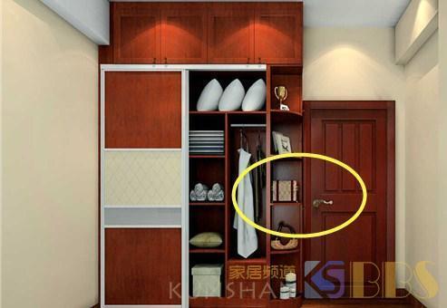 装衣柜万万不要做成半圆角的,我家当初不听劝,用久了才知是坑!