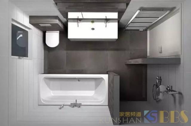 卫生间装修万万别被干湿分离忽悠了,这样设计更好,美观还实用