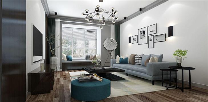 现代三居室